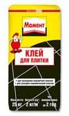 Клей для плитки МОМЕНТ Ceresit - 25 кг