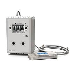 Регулятор (измеритель) влажности в розетку для инкубатора (10А)