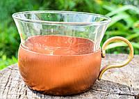 Коллекционная кружка,чашечка Подстаканник со стаканом, Медь,бронза, Германия, #S/V