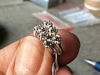 Серьги с бриллиантами 0. 72карата