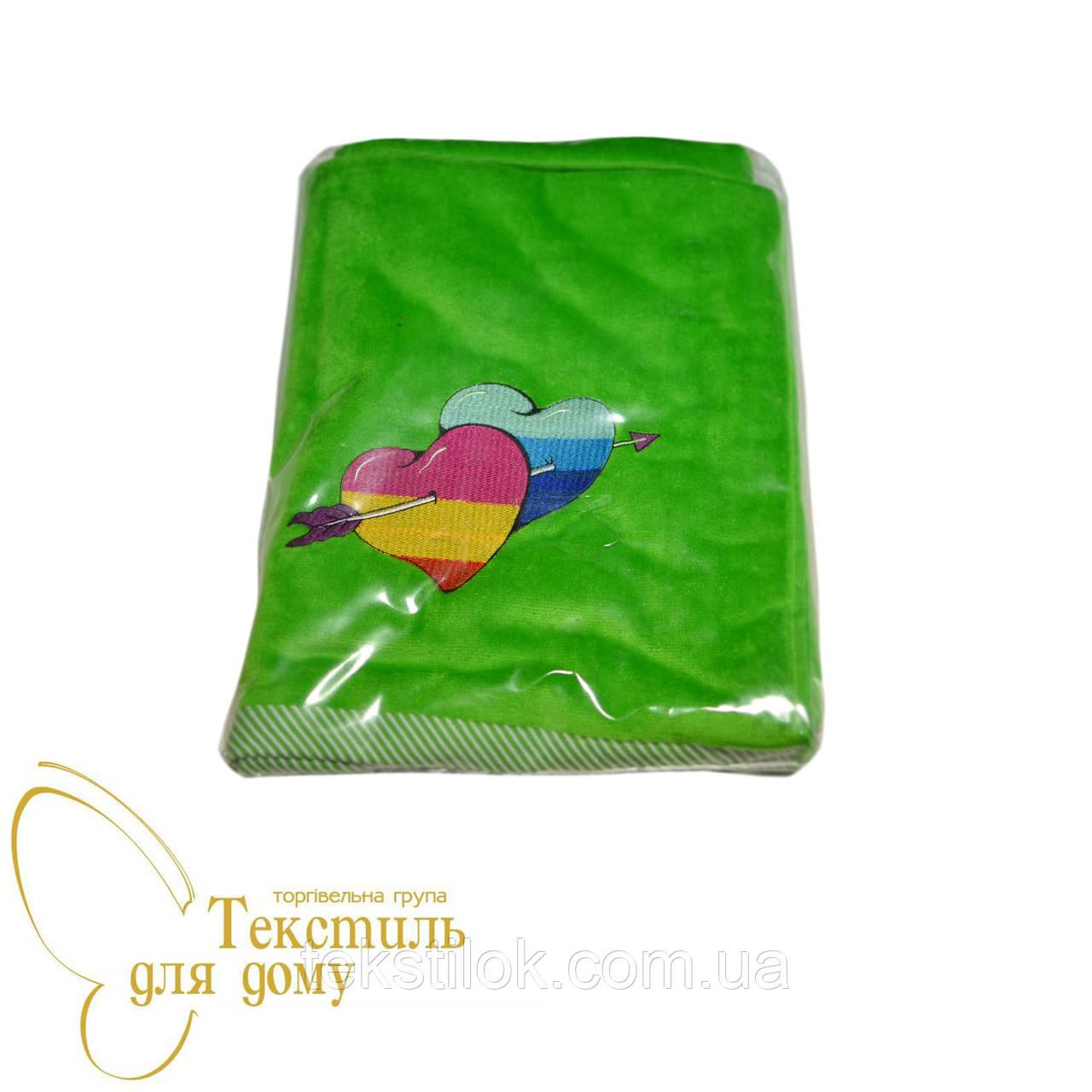 Полотенце пляжное 95*160, зеленый
