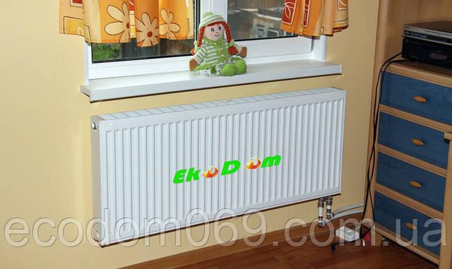 Купить стальной радиатор в Екодом