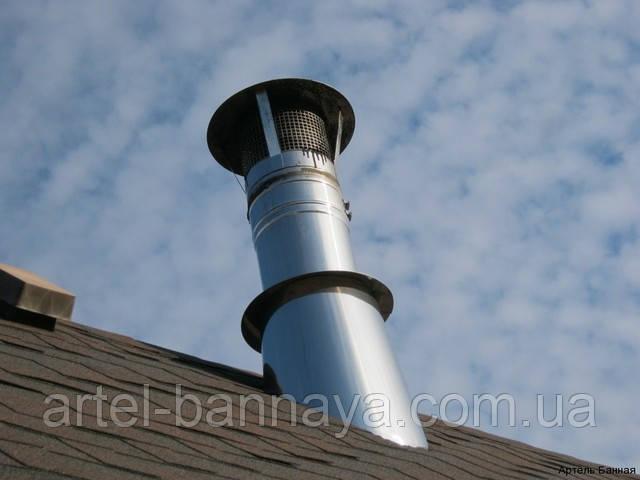 Монтаж банных дымоходов любой сложности
