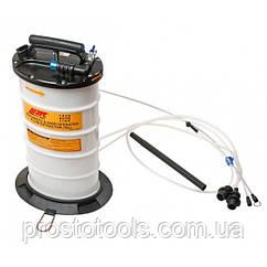 Приспособление для откачки тех. жидкостей комбинированное (ручное/пневматическое) JTC 1050