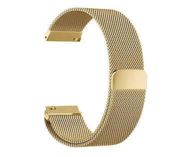 Міланський сітчастий ремінець Primo для годин Samsung Galaxy Watch 46 mm (SM-R800) - Gold