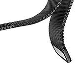 Миланский сетчатый ремешок для часов Samsung Galaxy Watch 42 mm (SM-R810) - Black, фото 6