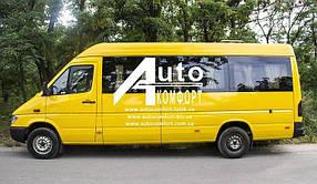 Установка автостекол на Mercedes Sprinter (1995-2006), Volkswagen LT (Спринтер (1995-2006), ЛТ)