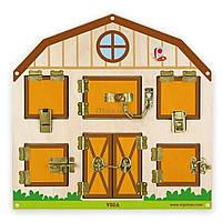 Развивающая игрушка Viga Toys Открой замок (бизиборд) (51627)