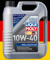Моторное масло LIQUI MOLY MoS2 10w 40 Молибден 5л