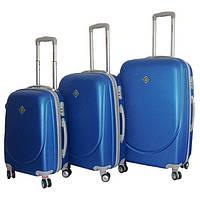 Набір валіз Bonro Smile пластикових з подвійними колесами 3 шт