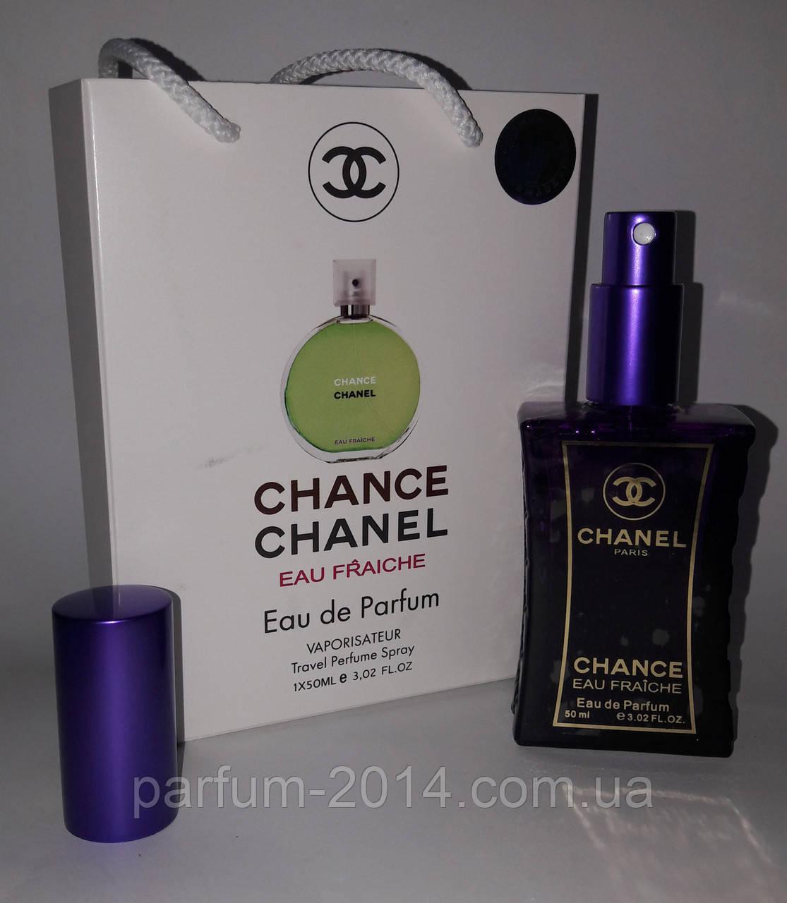 мини парфюм Chanel Chance Eau Fraiche в подарочной упаковке 50 Ml