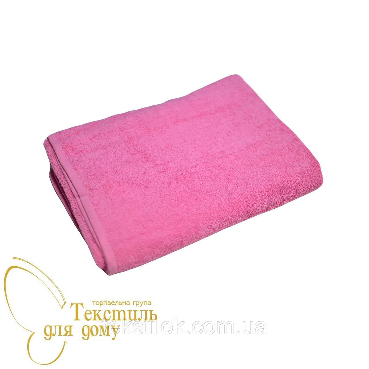 Полотенце банное 70*140, розовый