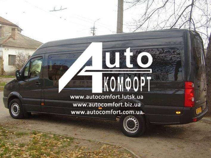 Установка (врезка) автостекол на Mercedes-Benz Sprinter (06-), Volkswagen Crafter (Спринтер (06-), Крафтер)