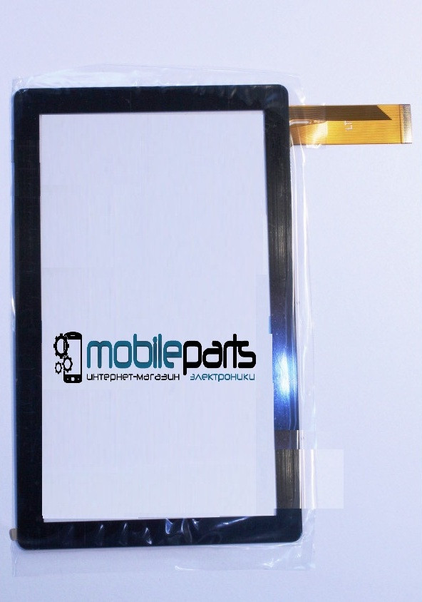 """Оригинальный Сенсор (Тачскрин) для планшета 7"""" Crown B704 30pin (186x111mm) (Черный)"""