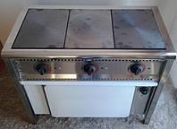 Плита электрическая промышленная 3-х конфорочная ПЕ-3Ш Н с духовкой