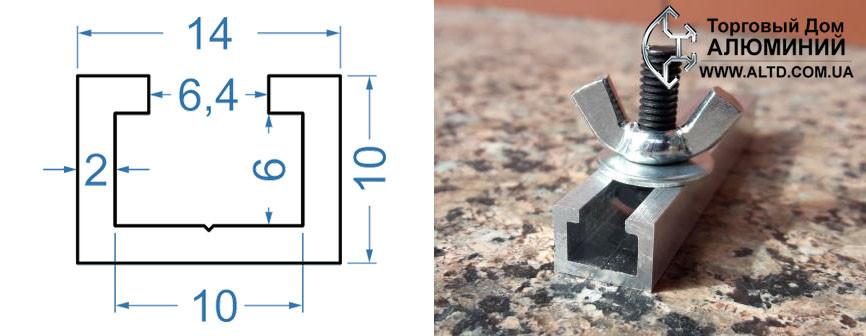 Рольганг алюминиевый профиль конструкции элеватора