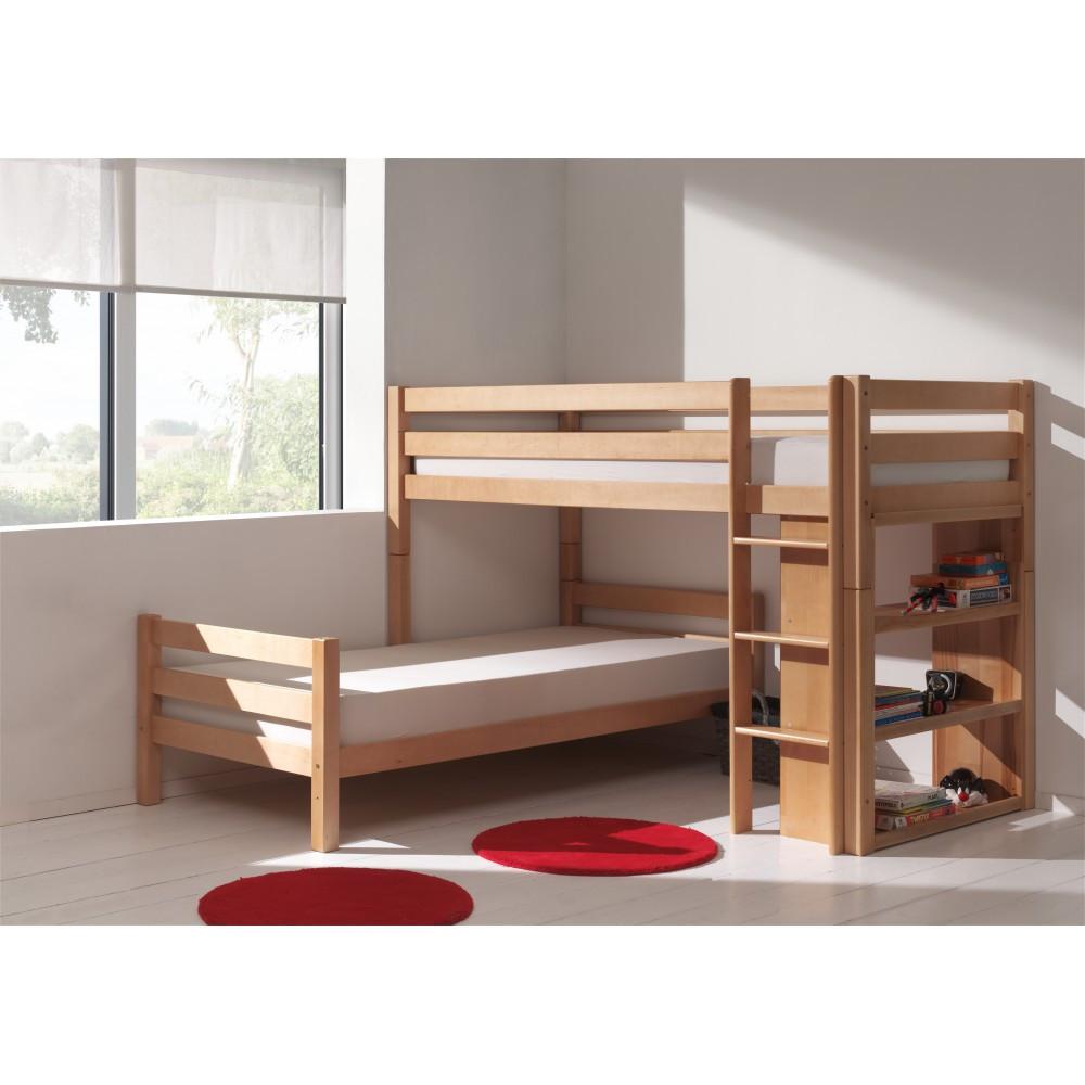 """Кровать двухъярусная """"Оуен"""" из массива"""