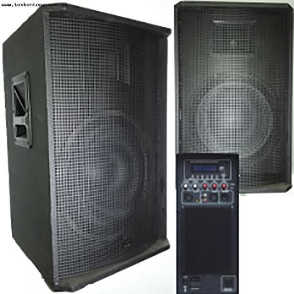 Акустическая система активная TIREX550A USB-MP3-FM-BT+Passive output