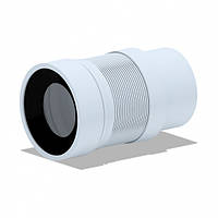 Гофротруба для унітаза 110 Ані (К821EU) довжина (212мм-320мм)