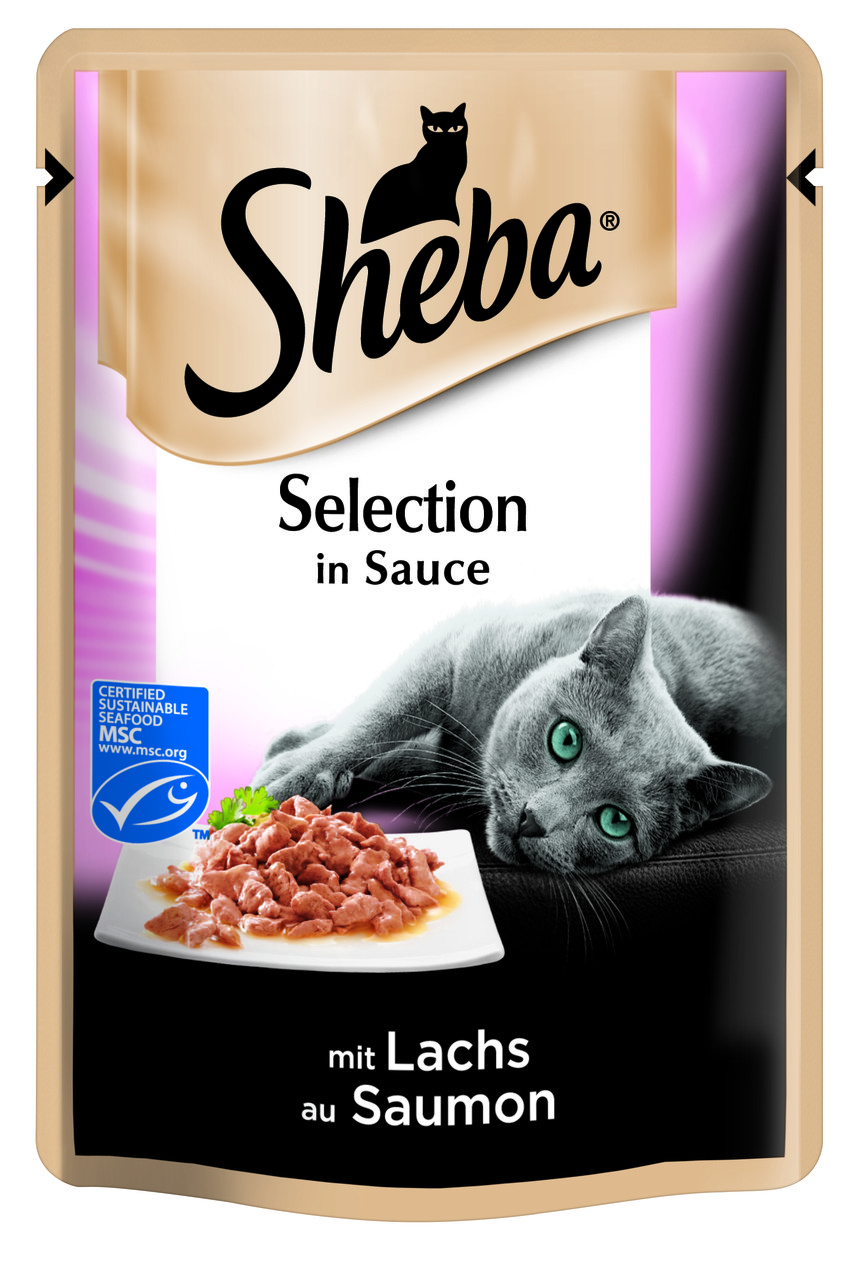 Sheba Delicatesse 85 гр*12шт- паучи для кошек