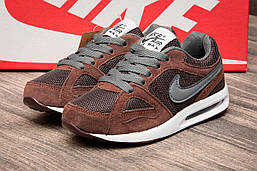 Кроссовки детские в стиле Nike Air Max , коричневые (2539-2),  [  32 33  ]