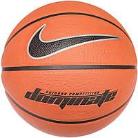 Мяч баскетбольный Nike Dominate коричневый, размер 7