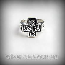 1036 Серебряное кольцо Кельтский Крест 925 пробы