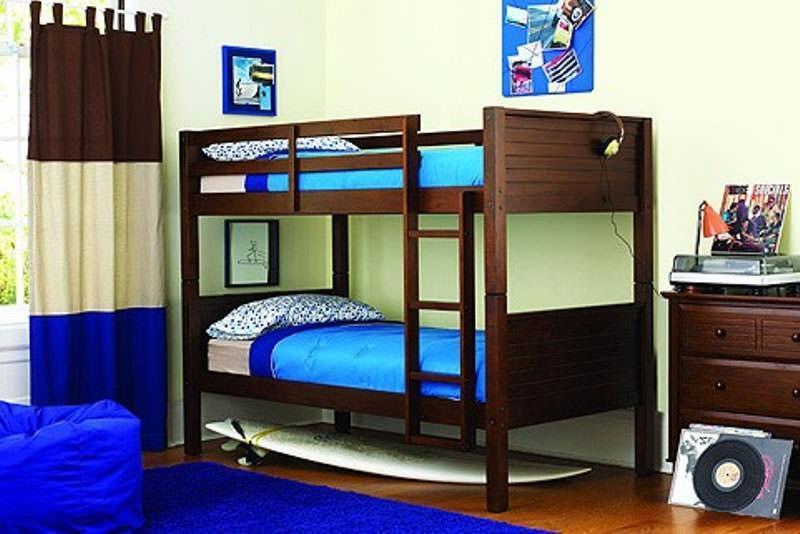 """Двухъярусная кровать """"Синтора"""" из массива"""