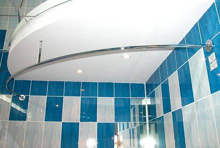 Карниз хромированный для акриловых ванн Тритон, фото 2