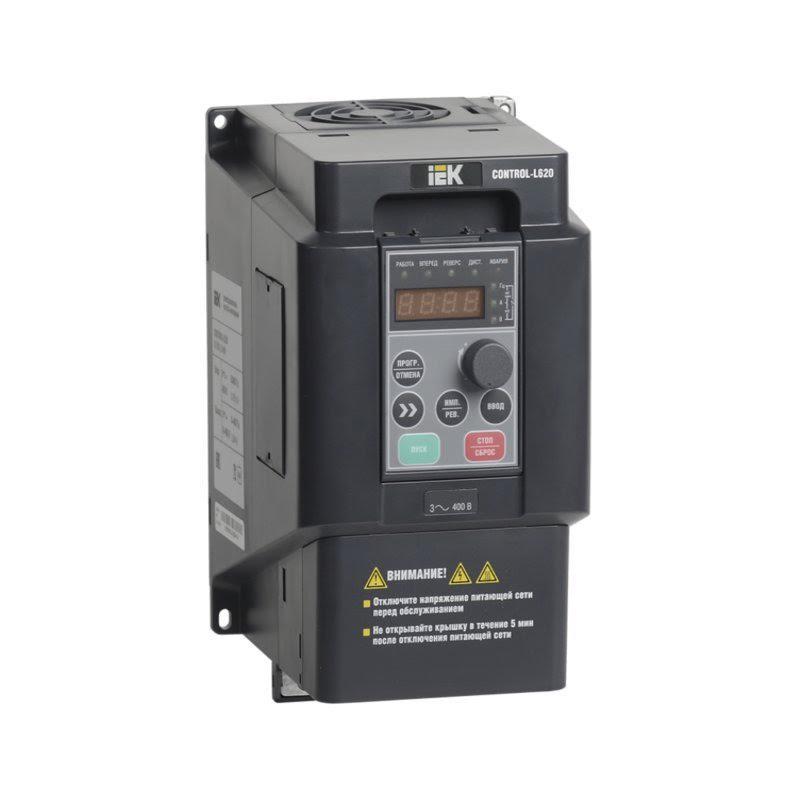 Преобразователь частоты CONTROL-L620 380В. 3Ф. 2.2-4 KW. 6-9 А. ИЕК