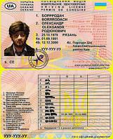 Водительское удостоверение Бородач