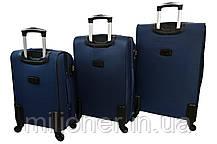 Чемодан Bonro Tourist 4 колеса (средний) темно-синий, фото 2