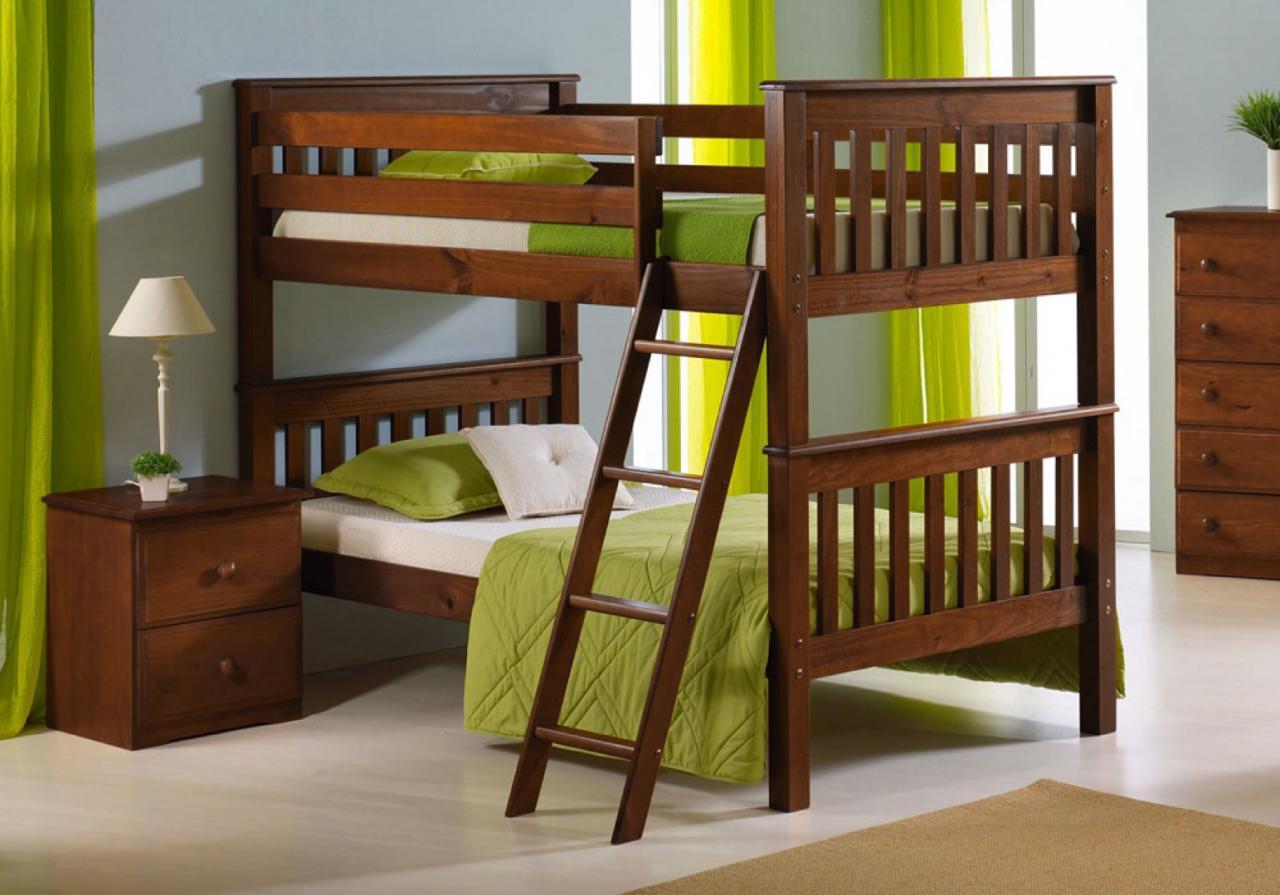 """Двухъярусная деревянная кровать """"Марина"""" из массива"""