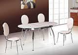 Стеклянный обеденный стол Бавария