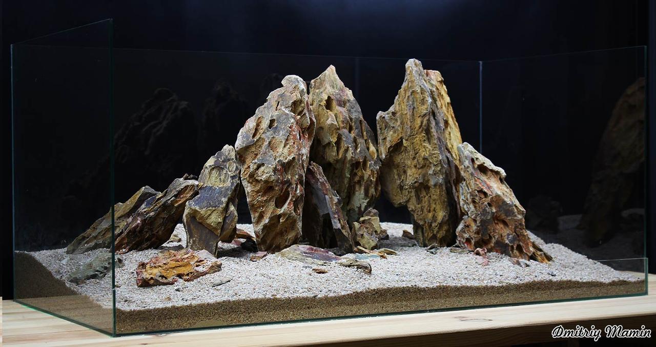 Композиция для аквариума из Дракона