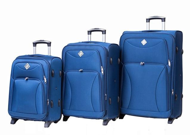 Дорожный чемодан Bonro Tourist на колесах набор 3 штуки