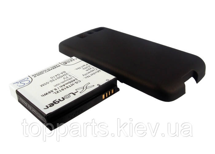 Аккумуляторная батарея CameronSino для смартфона HTC Desire, 2400mAh/8