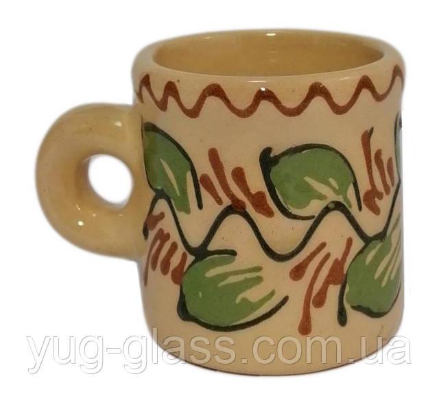 Чашка кавова 80 мл глиняная
