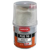 Смесь ремонтная Novol Plus 710 (полиэфирная смола 0,25кг.+стеклоткань), фото 1