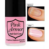 Гель для укрепления и роста ногтей Pink Armor Nail Gel.