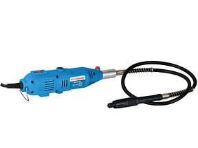 Гравер электрический 200 Вт BauMaster, гибкий вал, 2 цанги+40 насадок, пласт. кейс GM-2310F