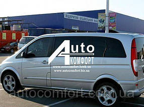 Установка (врезка) автостекол на автомобиль Mercedes-Benz Vito 04- (Мерседес Вито 04-)