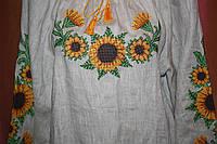 Блуза жiноча(Льон сiрий)