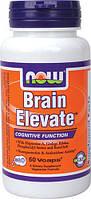 Активатор мозга при сниженных интеллектуальных способностях - Брэйн Элэвэйт / Brain Elevate, 60 капсул