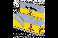 Скобы, 1000 шт., тип D,  TOPEX 41E406, 41E408, 41E410, 41E412, 41E414