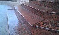 Лестница из гранита, фото 1