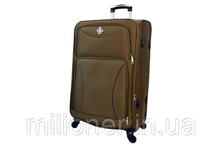 Чемодан Bonro Tourist 4 колеса (большой) золотой, фото 2