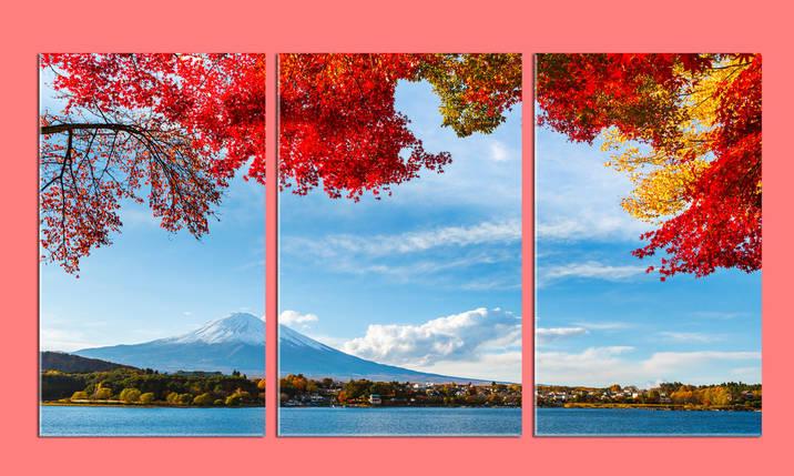 """Модульная картина """"Япония"""", фото 2"""