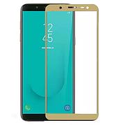 Защитное стекло Full cover Samsung J6 2018 - Золотой