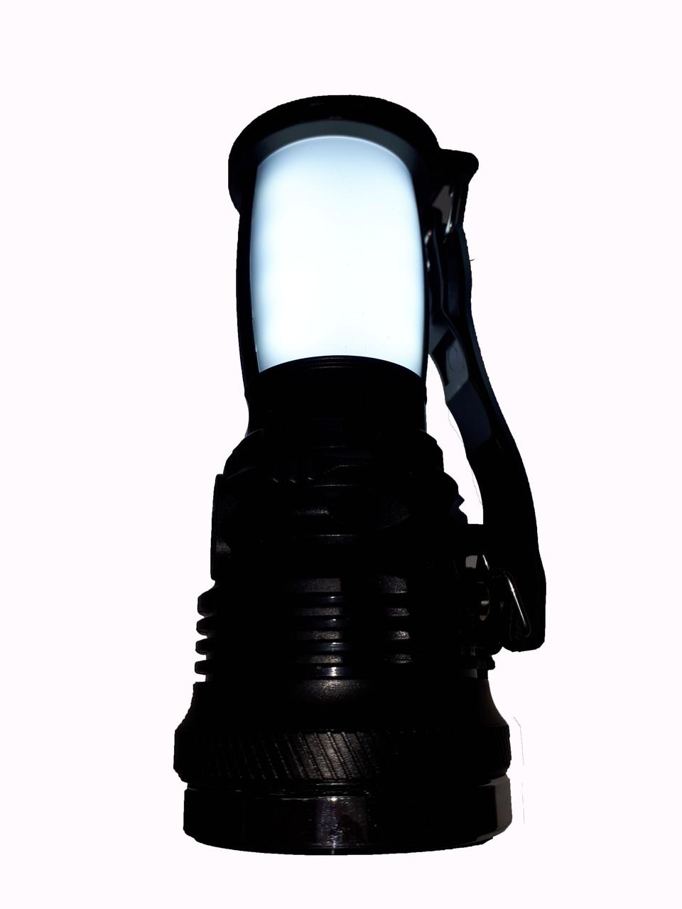 Фонарь аккумуляторный YJ-2891Т  1W+16 SMD LED